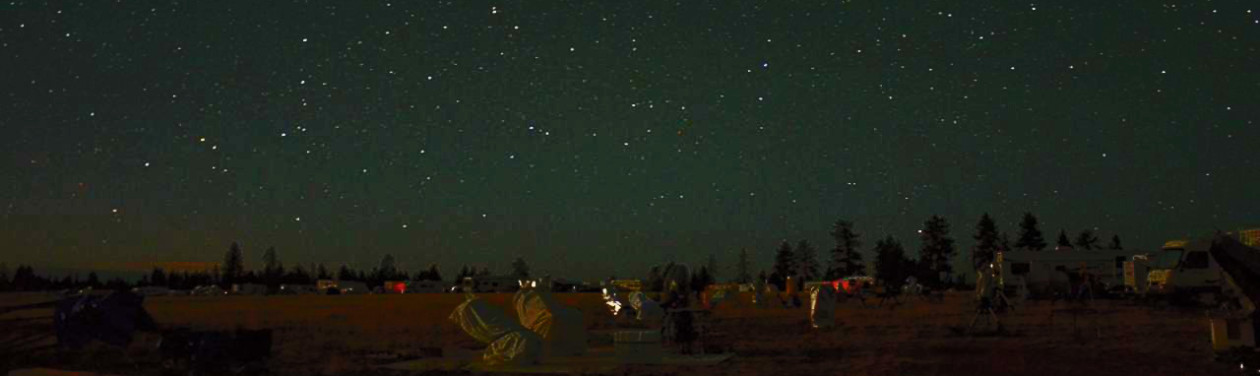 Oregon Star Party Aug 7-12, 2018